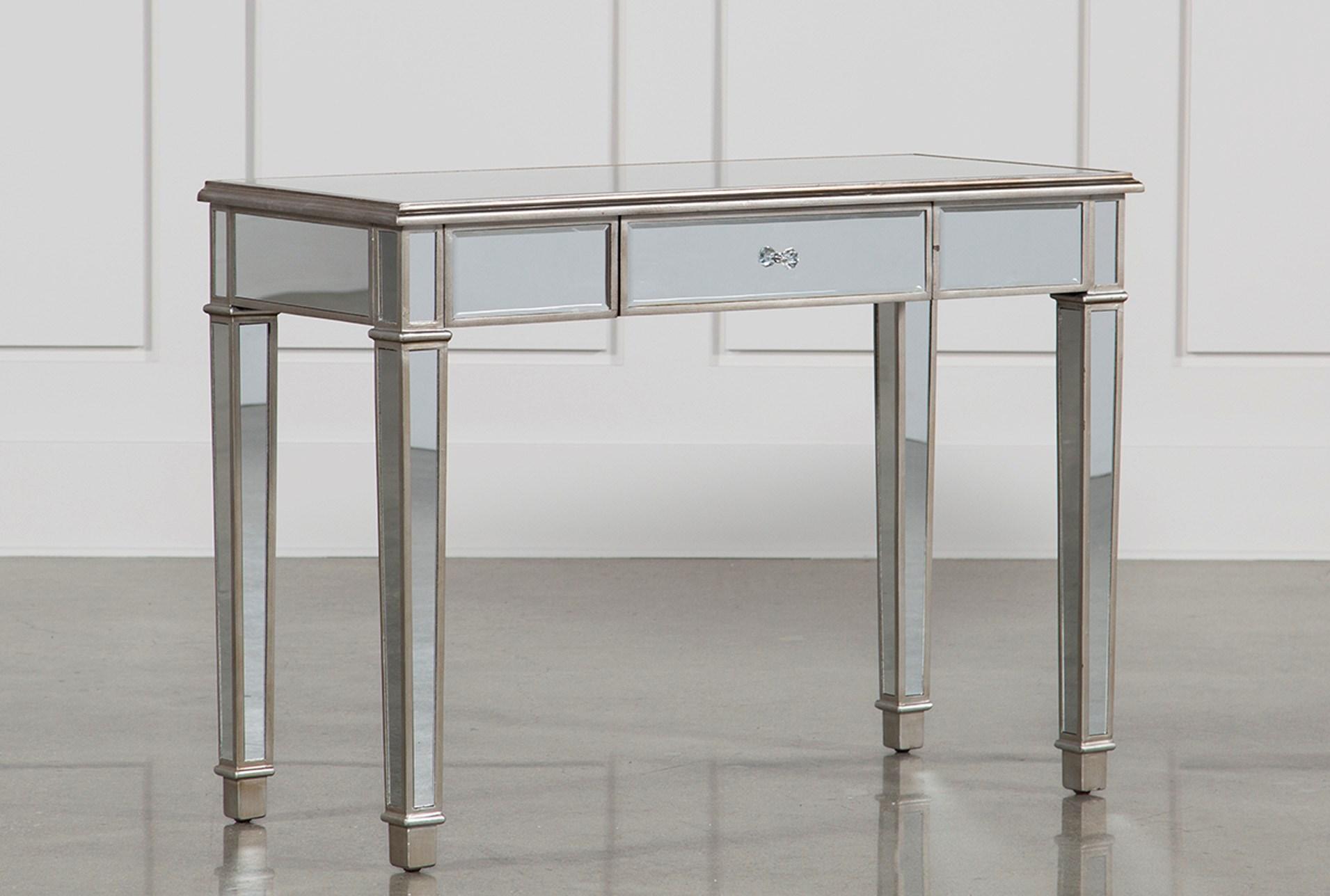 hayworth mirrored furniture. Hayworth Mirrored Vanity Desk - 360 Furniture U