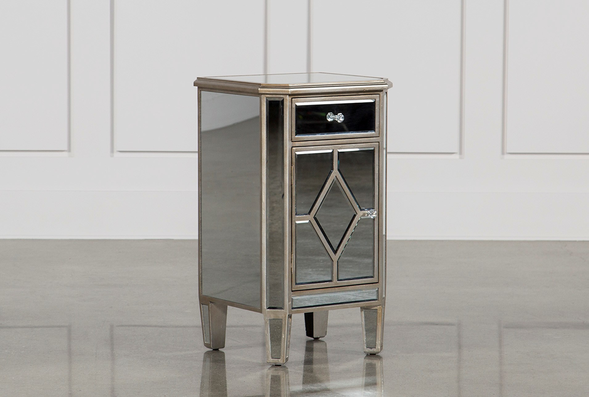 Hayworth Mirrored Nightstand