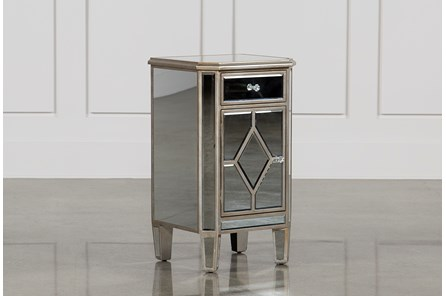 Hayworth Mirrored Nightstand - Main