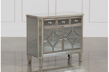Hayworth Mirrored Chest Of Drawers - Main