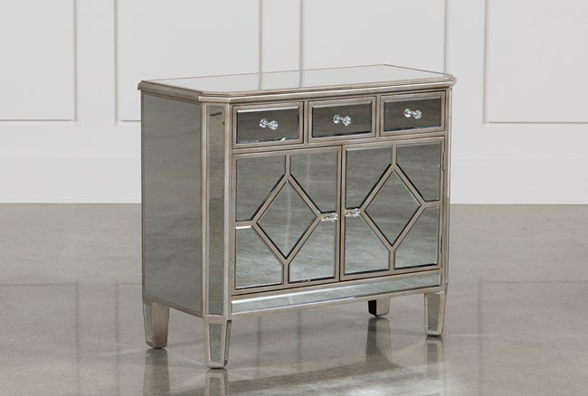 Hayworth Mirrored Chest Of Drawers - 360