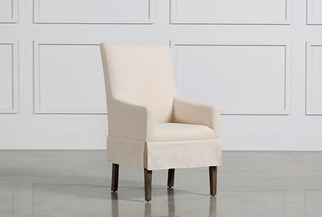 Mindy Slipcovered Side Chair - 360