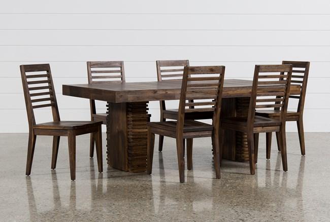 Teagan 7 Piece Extension Dining Set - 360