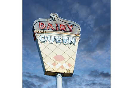 Picture-30X30 Dairy Queen By Matthew Ehrmann - Main
