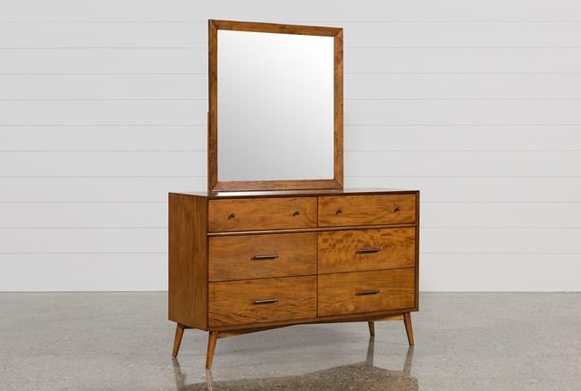 Alton Cherry Dresser/Mirror - 360