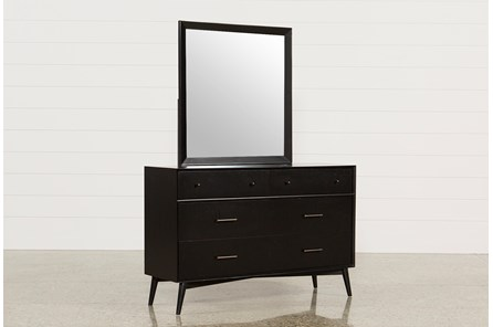 Alton Black Dresser/Mirror