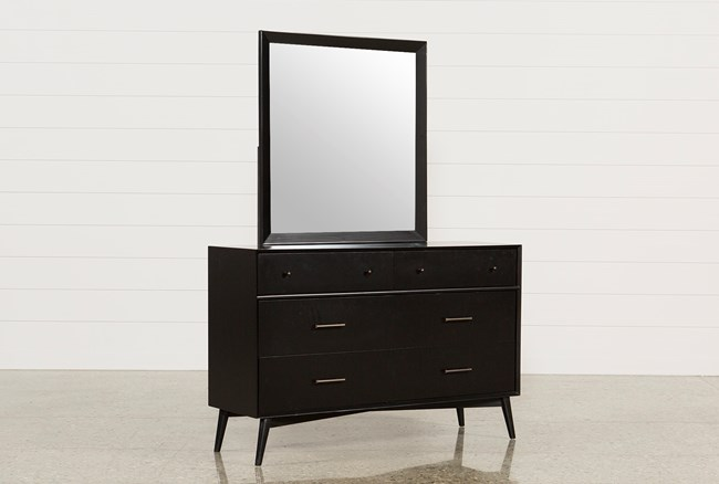 Alton Black Dresser/Mirror - 360