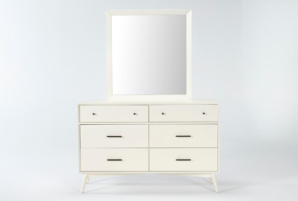 Alton Ecru Dresser/Mirror