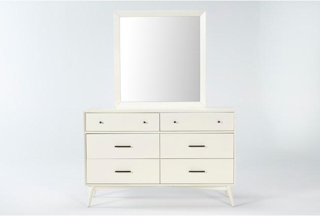 Alton Ecru Dresser/Mirror - 360