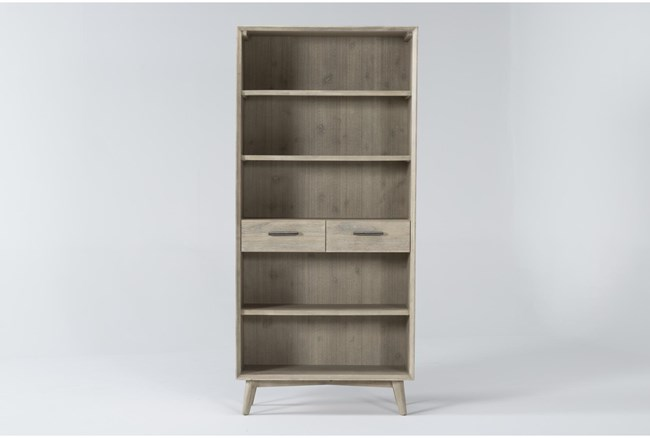 Allen Bookcase With 2 Drawers - 360