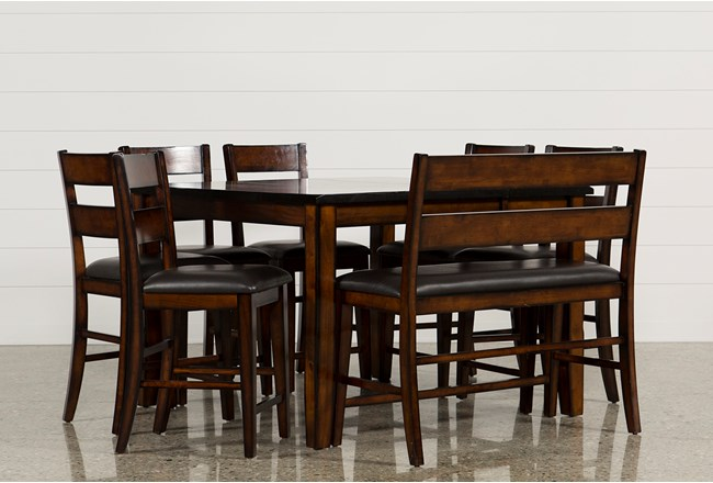 Rocco 8 Piece Extension Counter Set | Living Spaces