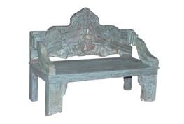 Nadira Carved Bench
