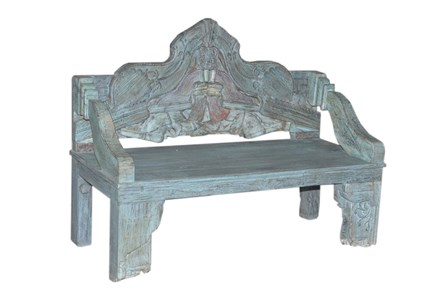 Nadira Carved Bench