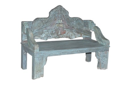 Nadira Carved Bench - Main