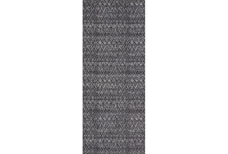 34X94 Rug-Luca Dark Grey