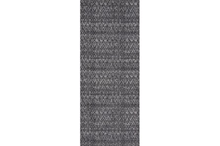 34X94 Rug-Luca Dark Grey - Main