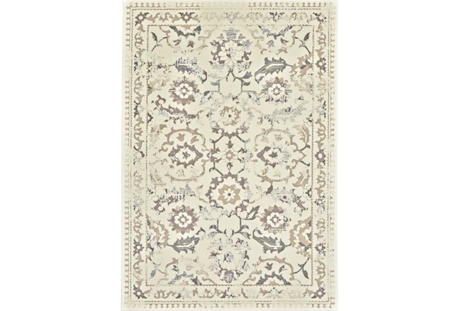 120X158 Rug-Gretta Faded Traditional - 360