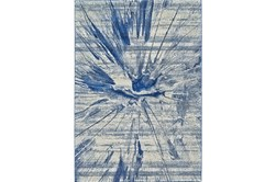 """2'2""""x4' Rug-Lochlan Cobalt"""