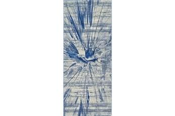 """2'8""""x7'8"""" Rug-Lochlan Cobalt"""