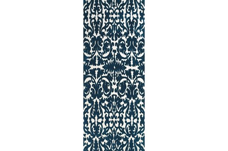 30X96 Rug-Veritas Midnight Blue - Main