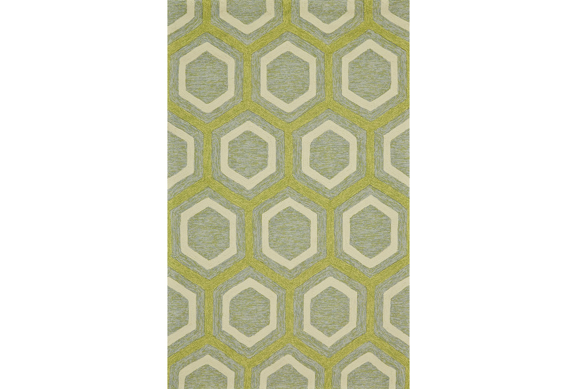 24x36 Rug Colby Hexagon Living Spaces