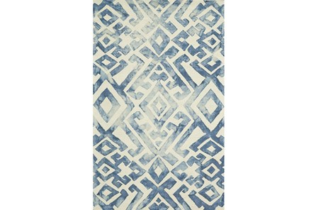 114X162 Rug-Tristen Midnight Blue - Main