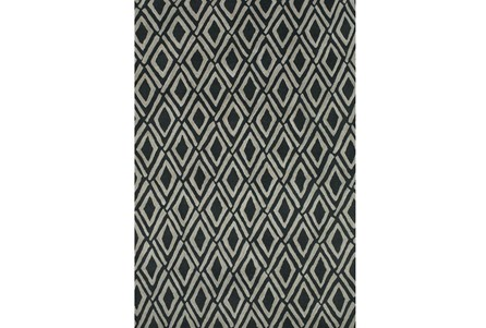 114X162 Rug-Lex Grey/Black