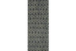 30X96 Rug-Lex Grey/Black