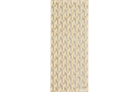 30X96 Rug-Felix Cream Geometric - Main