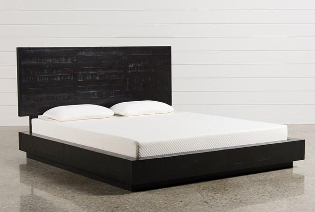 Isaac Eastern King Platform Bed - 360