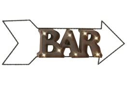 Metal Led Wall Sign-Bar