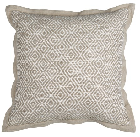 Accent Pillow-Seraphine Natural Diamonds 18X18