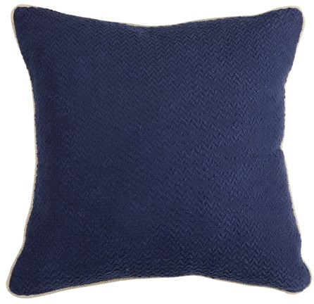 Accent Pillow-Allegro Indigo 22X22