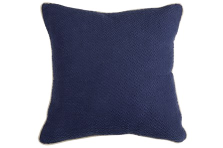 Accent Pillow-Allegro Indigo 22X22 - Main