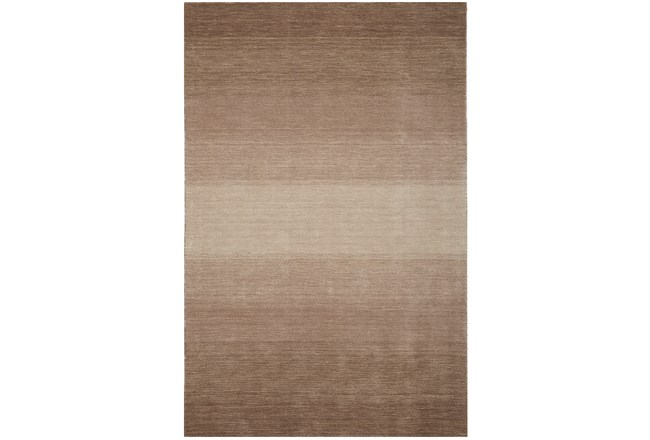 93x117 Rug Ombre Taupe Living Spaces