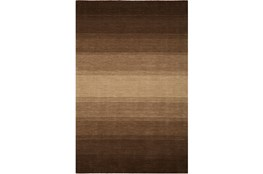 "5'x7'3"" Rug-Ombre Chocolate"