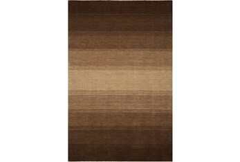 """5'x7'3"""" Rug-Ombre Chocolate"""