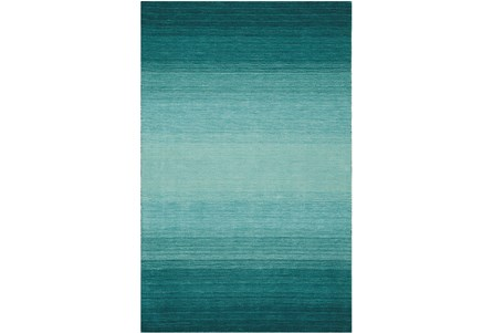 93X117 Rug-Ombre Teal