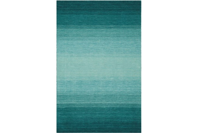 93X117 Rug-Ombre Teal - 360