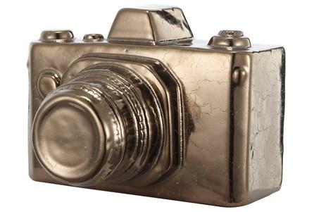 Copper Camera Decor