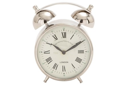 7 Inch Metal Table Clock