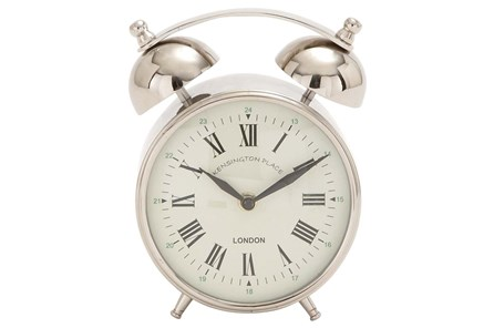 7 Inch Metal Table Clock - Main