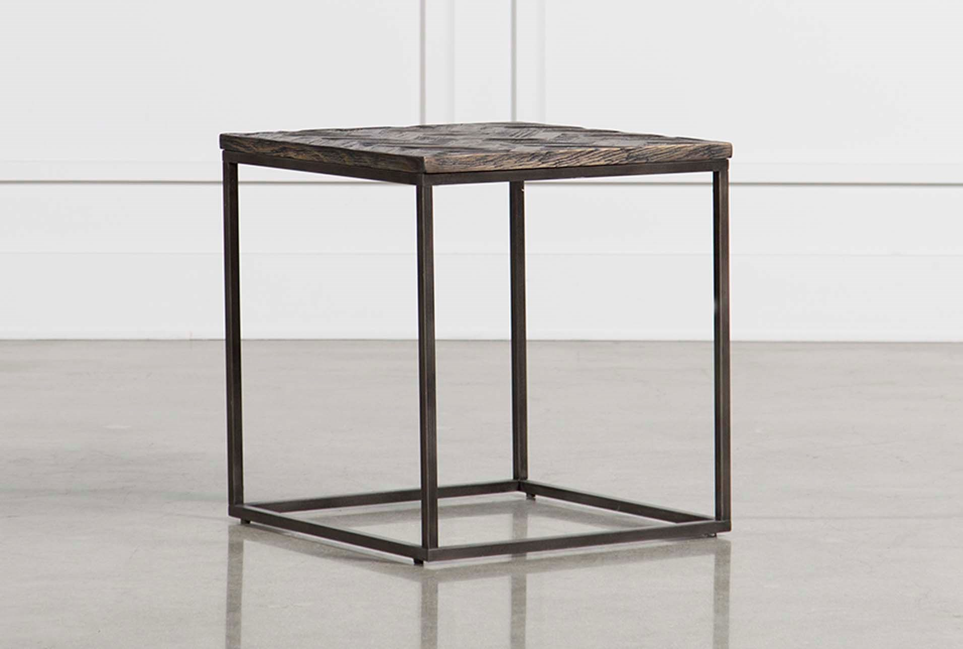 Cinna Square End Table | Living Spaces