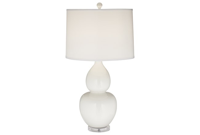 Table Lamp-Leona White - 360