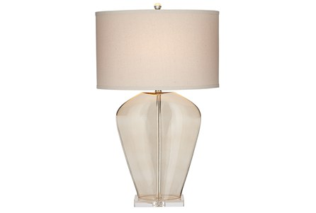 Table Lamp-Arcelia Champagne