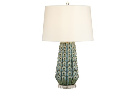 Table Lamp-Liza Blue