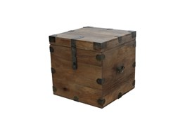Marjani Trunk End Table