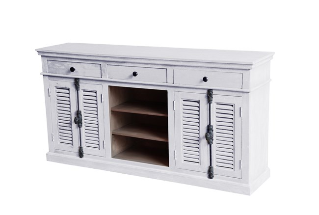 Zhen 3-Drawer Shutter Sideboard - 360