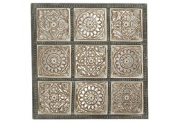 Square Wooden Wall Panel