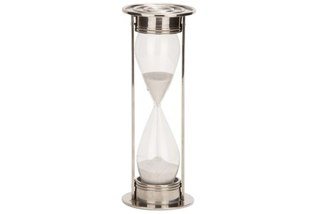 11 Inch Silver Sand Timer